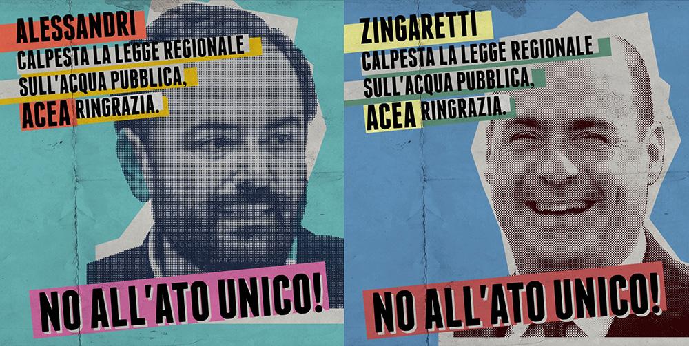 Il presidente della Regione Lazio, Nicola Zingaretti, e l'assessore regionale Mauro Alessandri