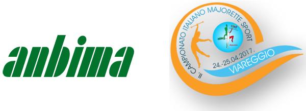 Logo ANBIMA e Logo II Campionato Italiano Majorette-Sport