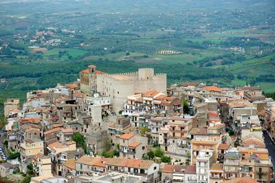 Veduta aerea del Centro Storico di Sant'Angelo Romano